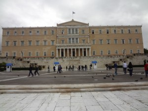 Greek parlament