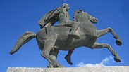 thessaloniki-great alexander statue