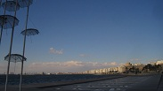 thessaloniki-unbrellas-sea side