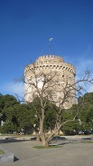 thessaloniki-white tower -tree